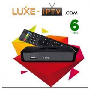 Abonnement IPTV 6 mois Mag